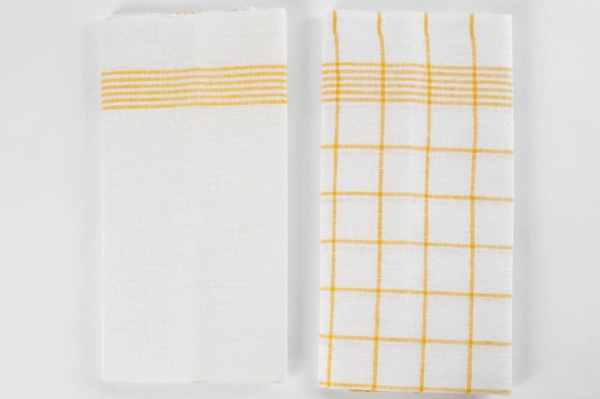 "Set of two linen kitchen towels ""Havanna"" 3"