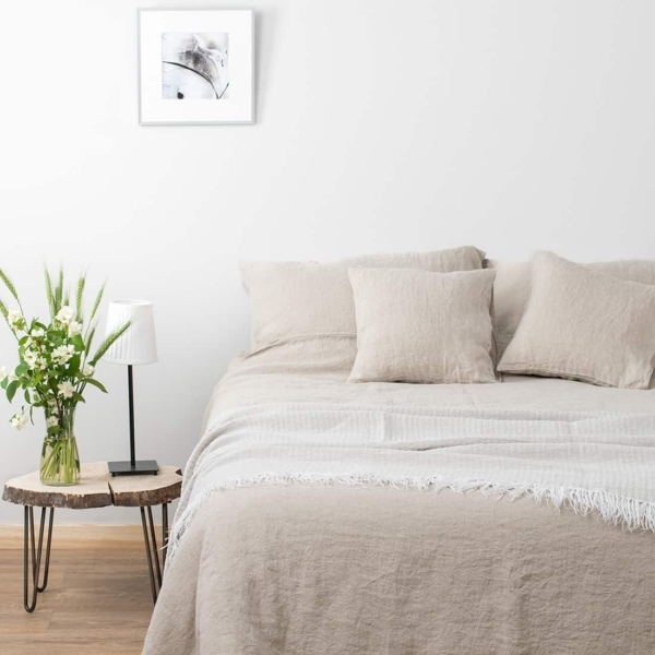 """Grey Washed Bed Linen Collection """"Dunes"""" 1"""