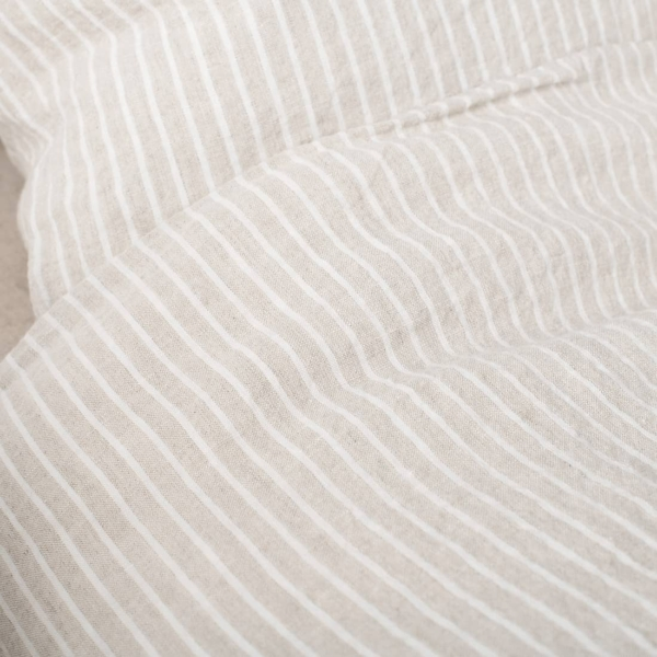 """Grey Striped Bed Linen Collection """"Polo"""" 5"""