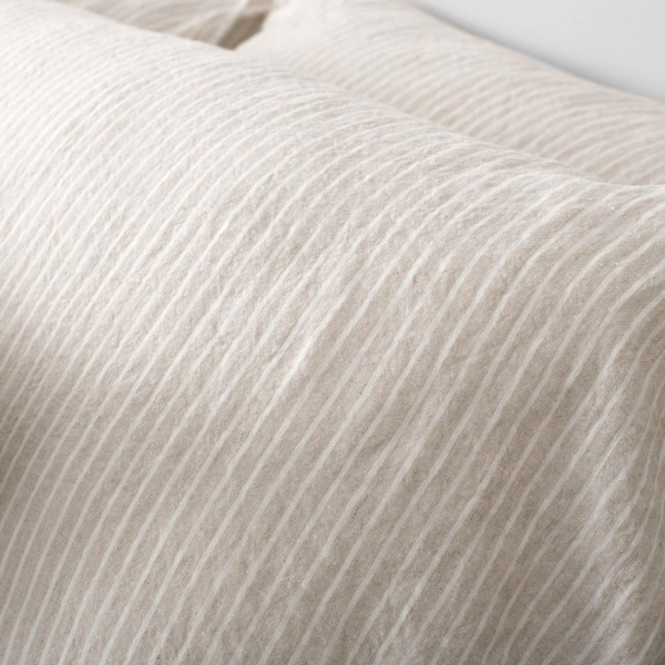 """Grey Striped Bed Linen Collection """"Polo"""" 3"""