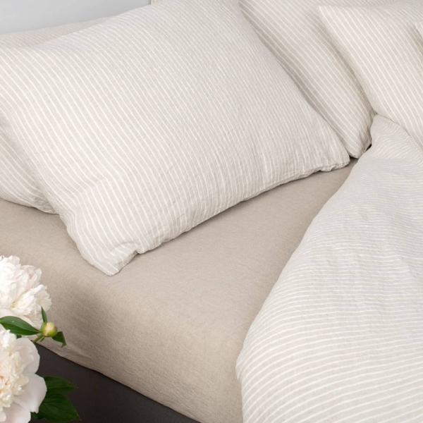 """Grey Striped Bed Linen Collection """"Polo"""" 2"""