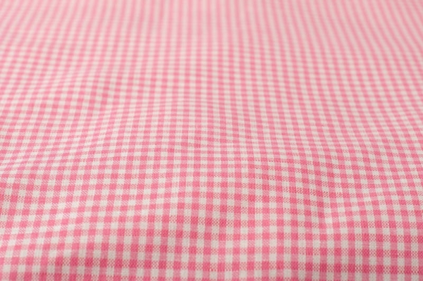 """Kid's pink checked bed linen collection """"Rose"""" 5"""
