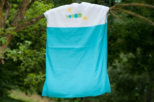 "Kid's turquoise bed linen collection ""Cloud"" 2"