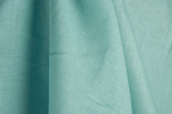 Linen fabric, light bluish green 1