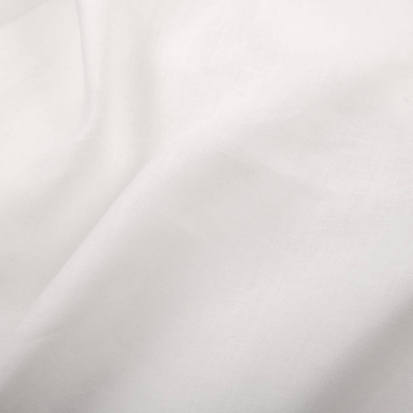 Wide linen fabric in off-white 1