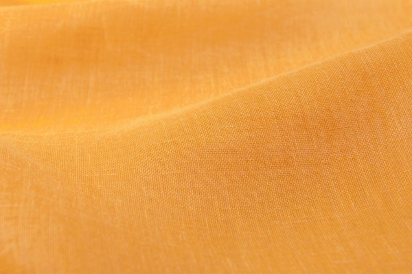 Linen transparent fabric in apricot 1