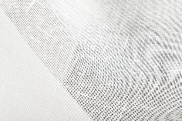 Transparent linen fabric in off-white 2