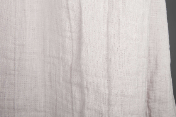 Pink washed double-layer linen fabric 3