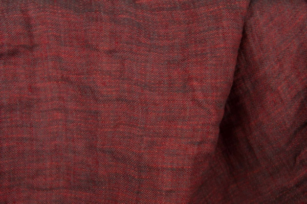 Red washed linen fabric, double-sided 3