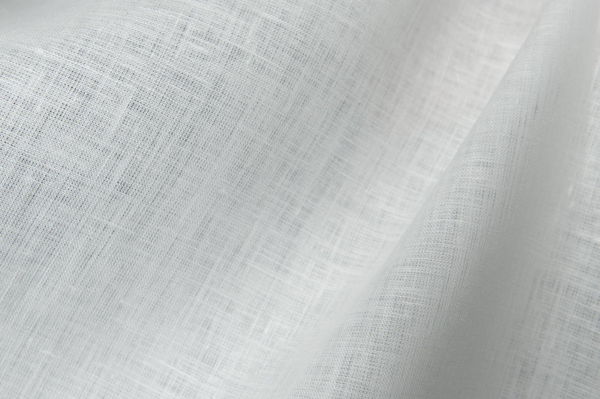 Linen fabric in off-white 2