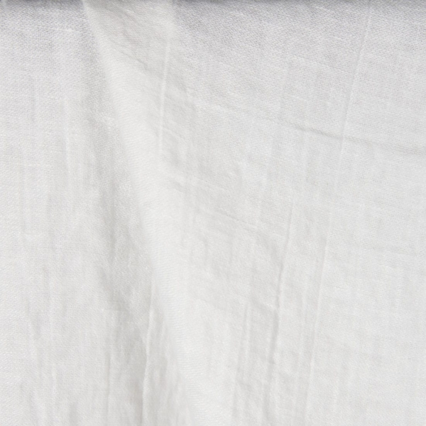 Off-white linen fabric, washed 1