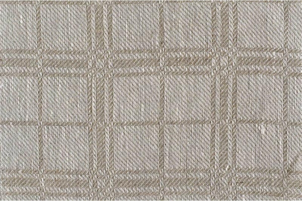 Patterned pure linen fabric 1