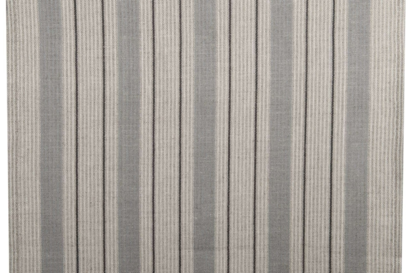 Light grey striped toweling fabric 1
