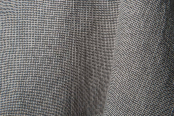 Grey patterned fabric, washed 3