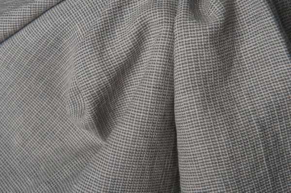 Grey patterned fabric, washed 2