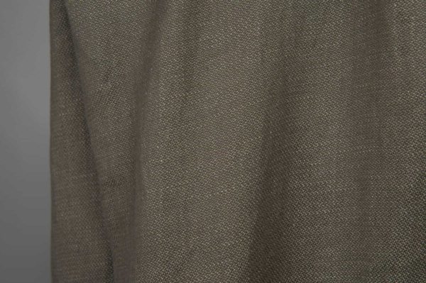 Grey double-sided linen / cotton fabric, washed 4