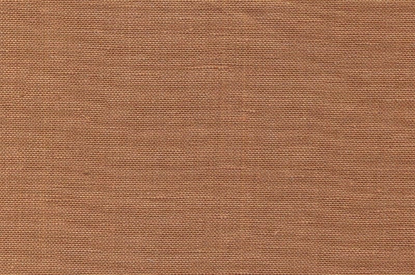 Linen / cotton fabric in caramel brown 1