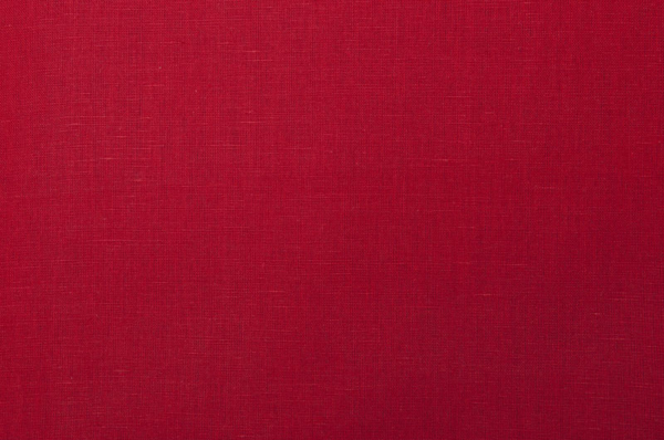 Wide linen / cotton fabric in red 2