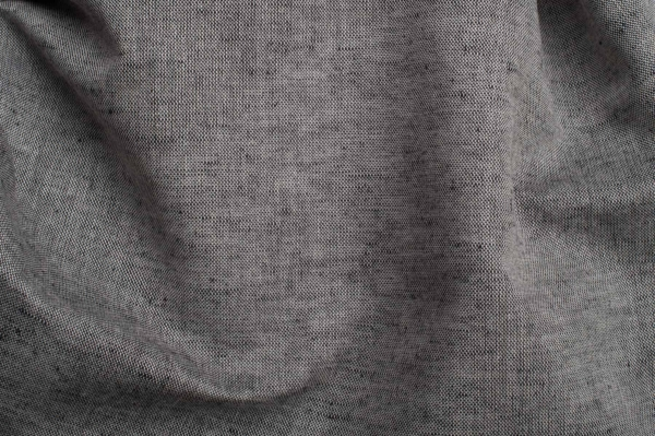 Linen blend fabric in black and white 3