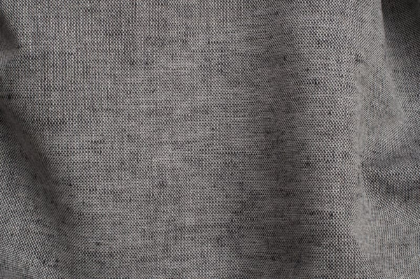 Linen blend fabric in black and white 1
