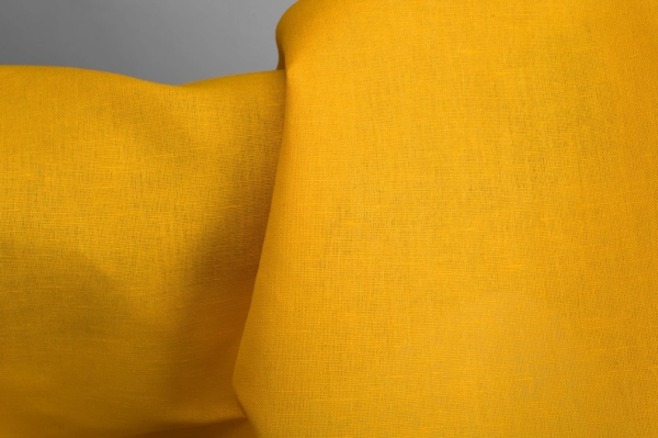 Bright yellow fabric 2