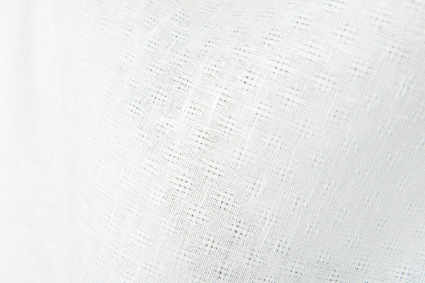 Off-white linen fabric in an openwork pattern 2