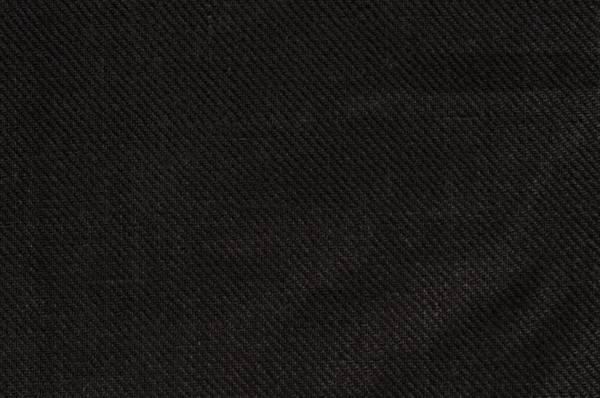 Linen fabric in black diagonal stripes 1