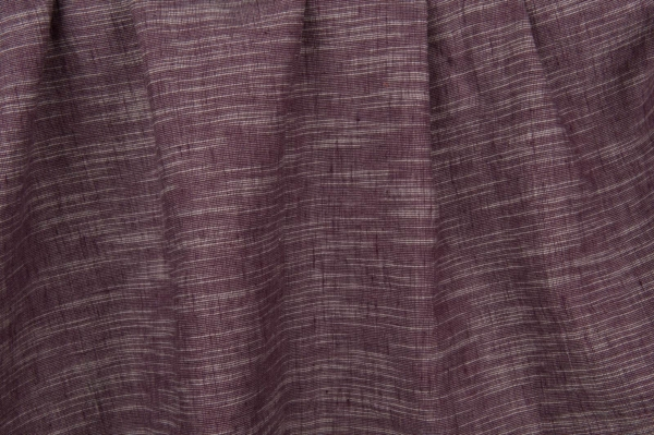 Purple variegated fabric, washed 1