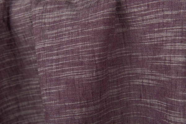 Purple variegated fabric, washed 2