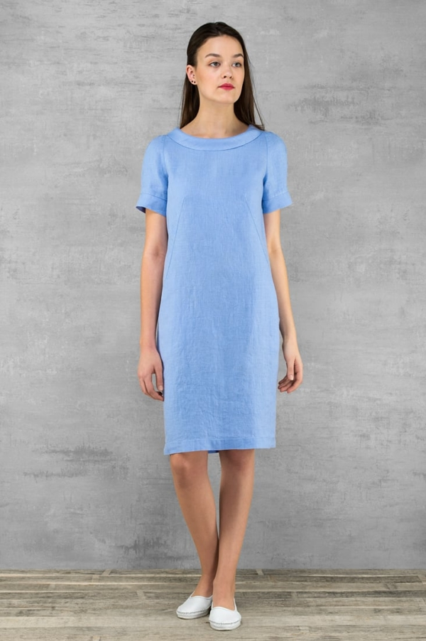 "Linen dress ""Lucretia"" 1"