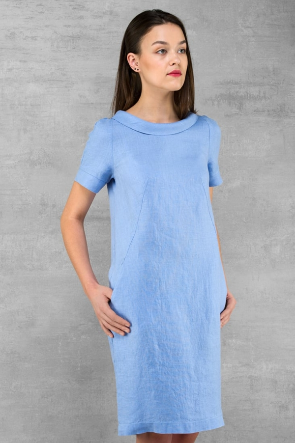 "Linen dress ""Lucretia"" 2"