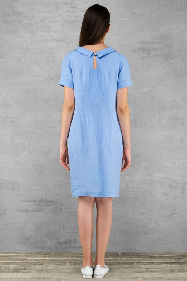 "Linen dress ""Lucretia"" 5"