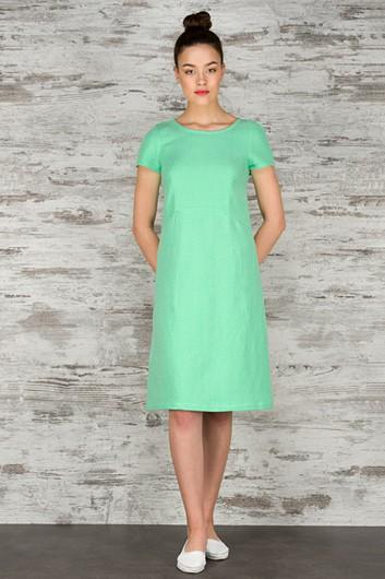 SUZI light green dress 1