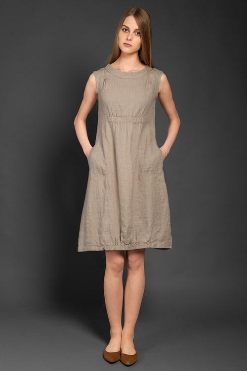 VIKI grey dress 1
