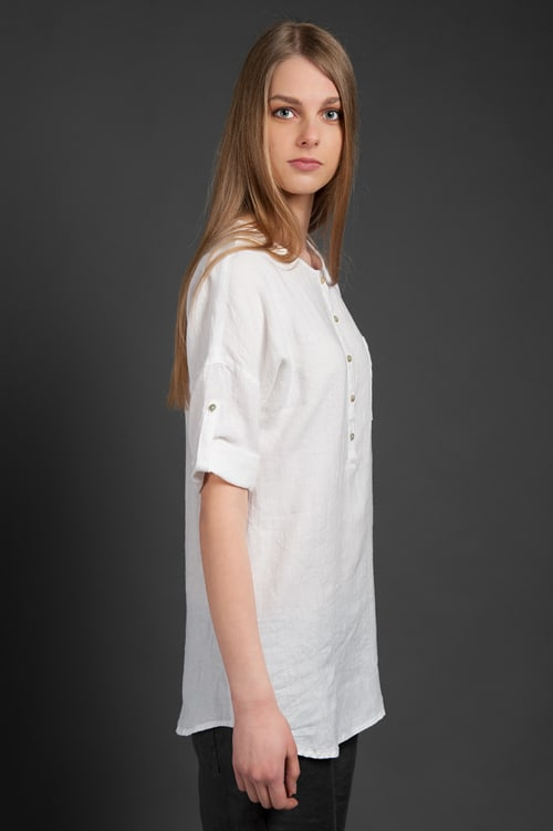 "Linen blouse ""Scarlett"" 3"