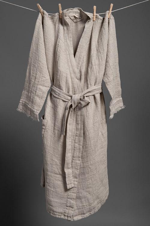 MALTA grey bathrobe 1