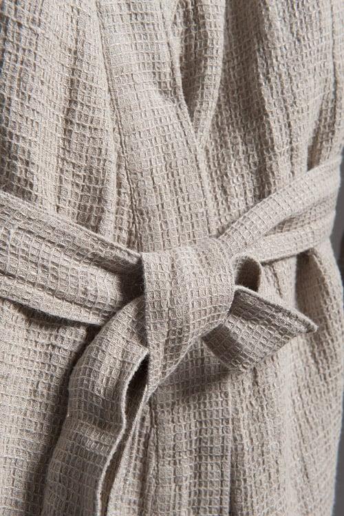 MALTA grey bathrobe 2