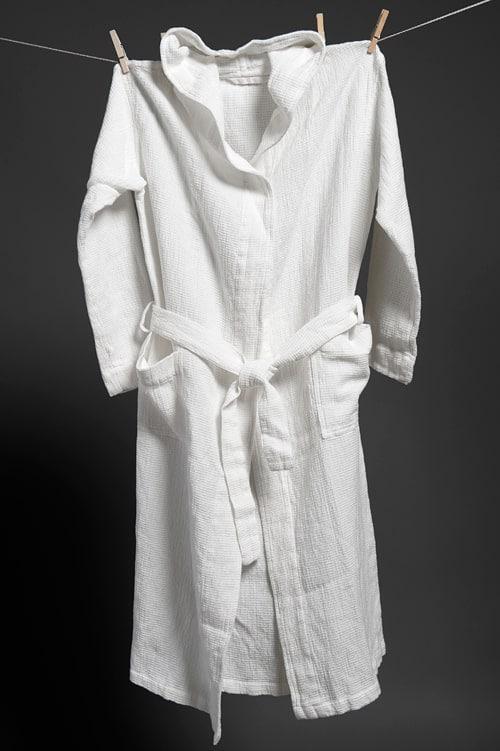 KORE white bathrobe 1