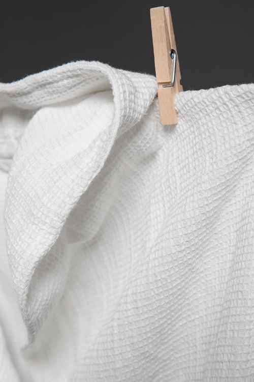 KORE white bathrobe 2
