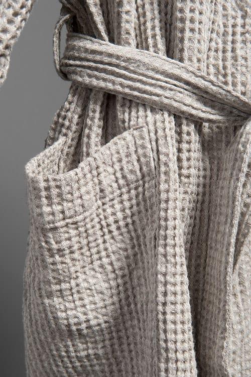PIKE grey men's bathrobe 2