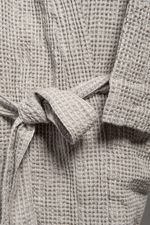 PIKE grey men's bathrobe 3