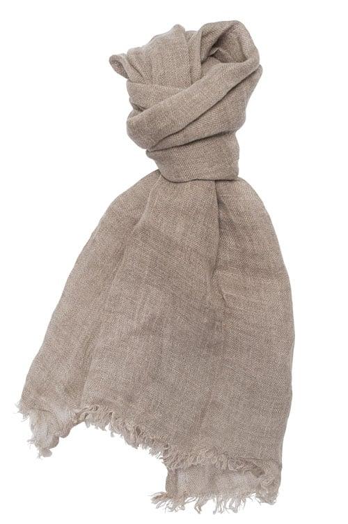 FINO natural shawl 1