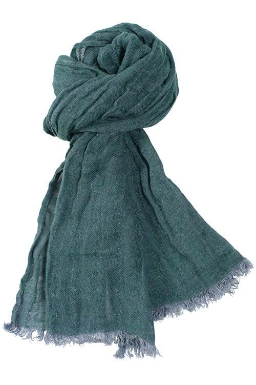 FINO dark green shawl 1