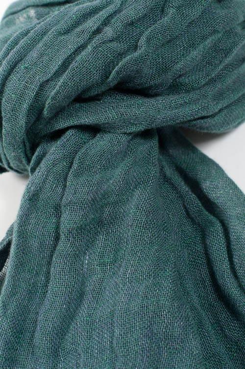 FINO dark green shawl 2