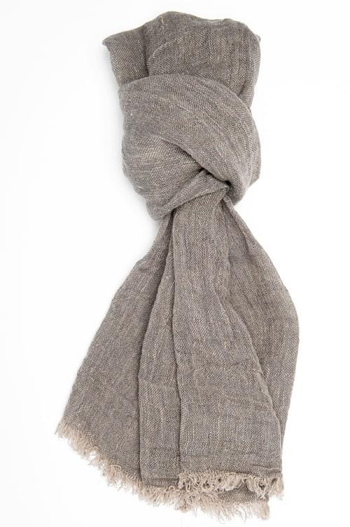 FINO grey shawl 1