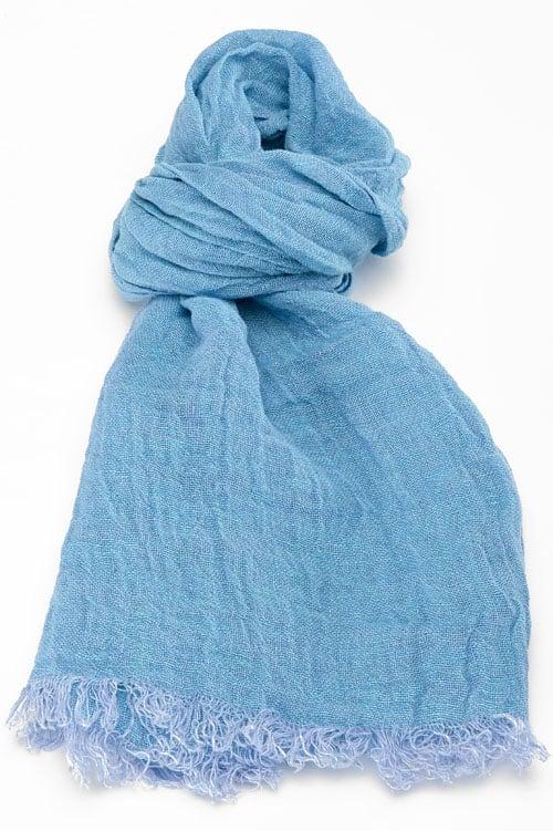 FINO blue shawl 1