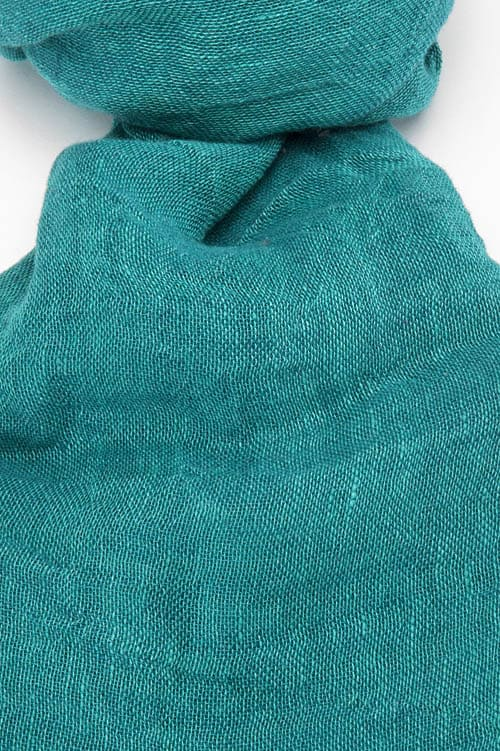 FINO emerald green shawl 2