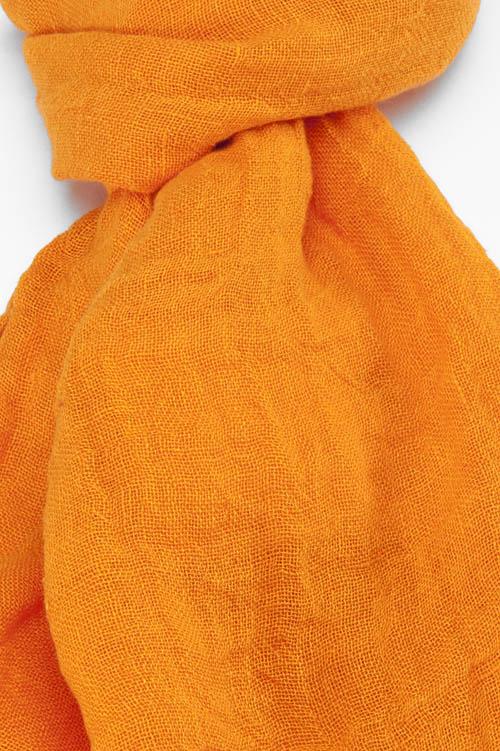 FINO bright orange shawl 2
