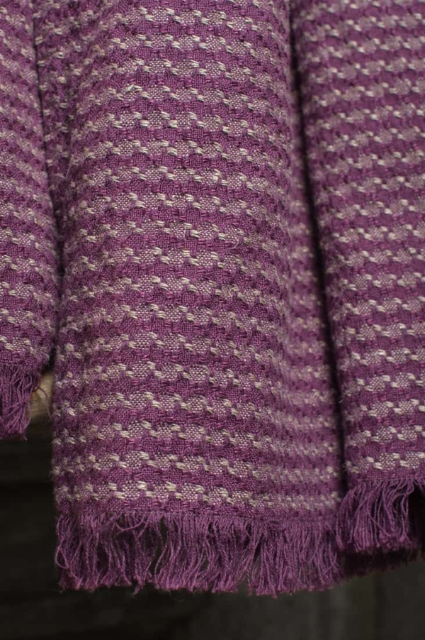 ZAZA purple shawl 3