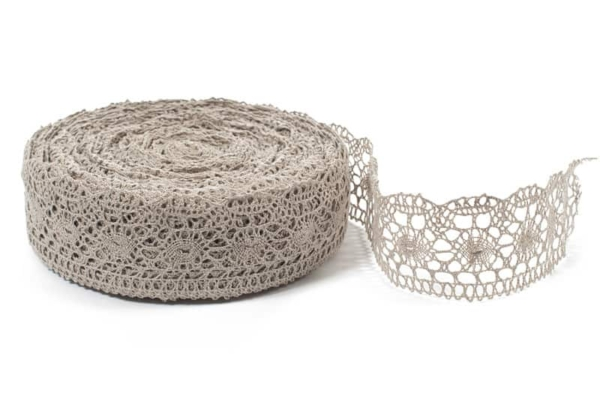Natural linen lace No. 19 1